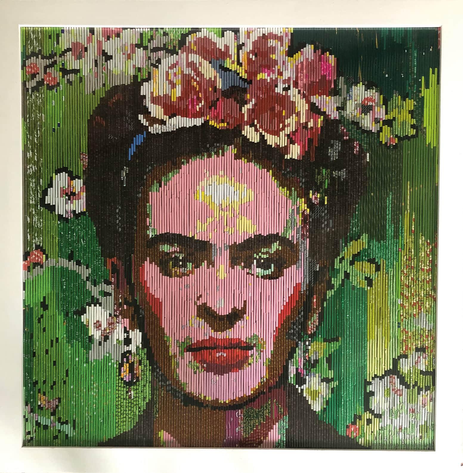 Frida Kahlo RollingpiecesArt